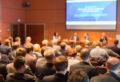 Konferenz und Präsentation.